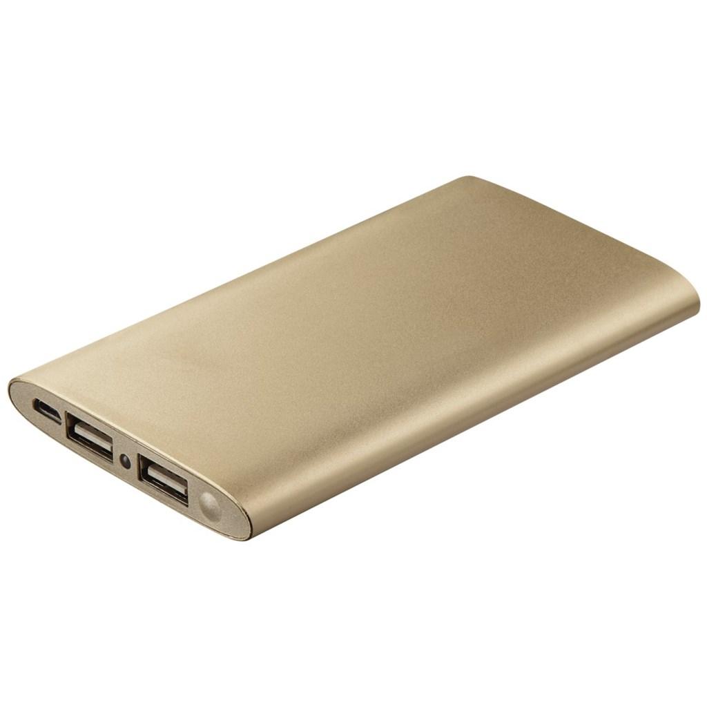 Hama Premium Alu Power Pack, 5000 mAh, gold