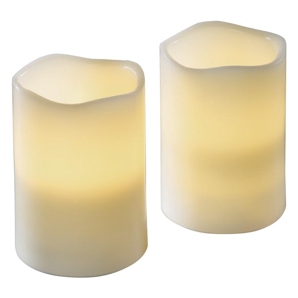 Hama LED svíčky z pravého vosku, 2 ks