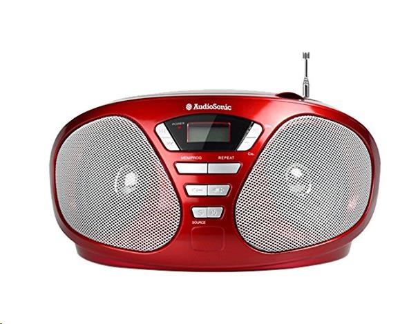 AUDIOSONIC Stereo radio CD, 2 x 3 Watt CD-1568