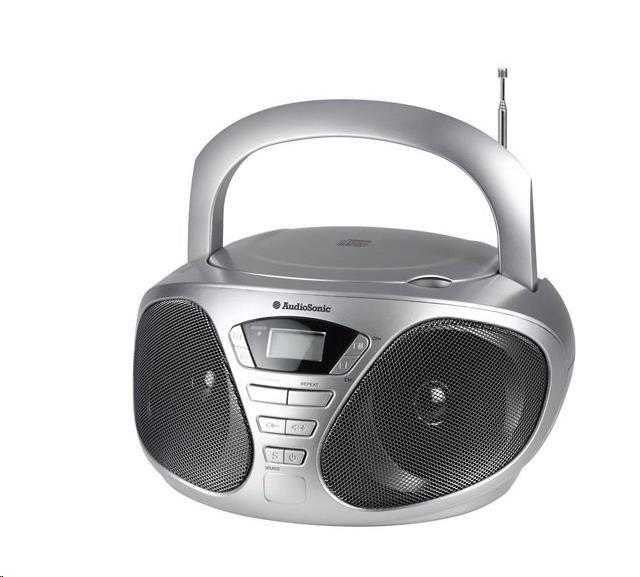 AUDIOSONIC Stereo radio CD, 2 x 3 Watt CD-1569