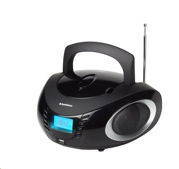 AUDIOSONIC Stereo radio CD, MP3, USB, 2x 3 Watt CD-1594