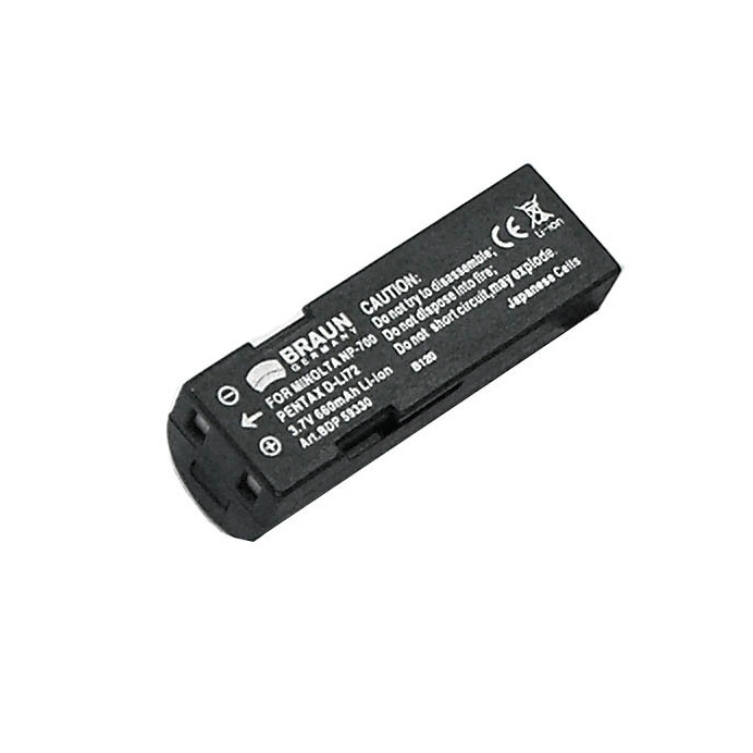 Doerr Akumulátor DDP-PLI72 (D34, Minolta NP-700 - 3,7 V/660 mAh pro X50,60)