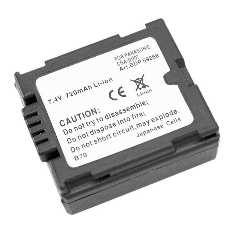 Doerr Akumulátor DDP-PDU06 (10, Pan. DU06,07 - 7,2 V/600 mAh - GS10-400, M30-70)