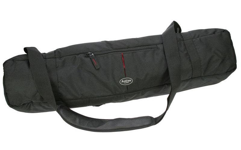 Doerr Pouzdro na stativy ACTION Black XL (90x18x18 cm, černé, polstrované)