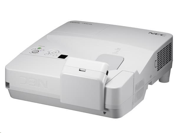 NEC Projektor LCD UM351W , WXGA 1280x800,3500ANSI lm,6000:1, včetně držáku na zeď