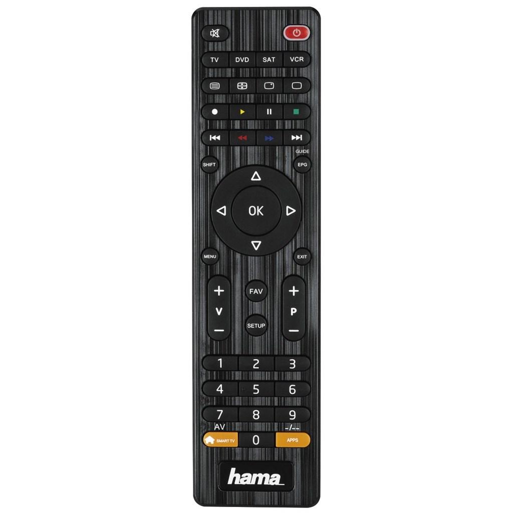 Hama univerzální dálkový ovladač 4v1, smart TV