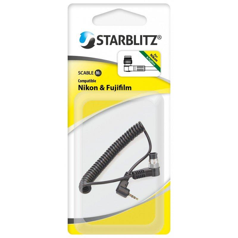 Starblitz kabel ke spouštím pro Nikon/Fujifilm