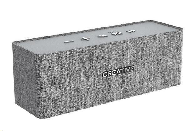 Creative NUNO bezdrátový přenosný reproduktor - šedý