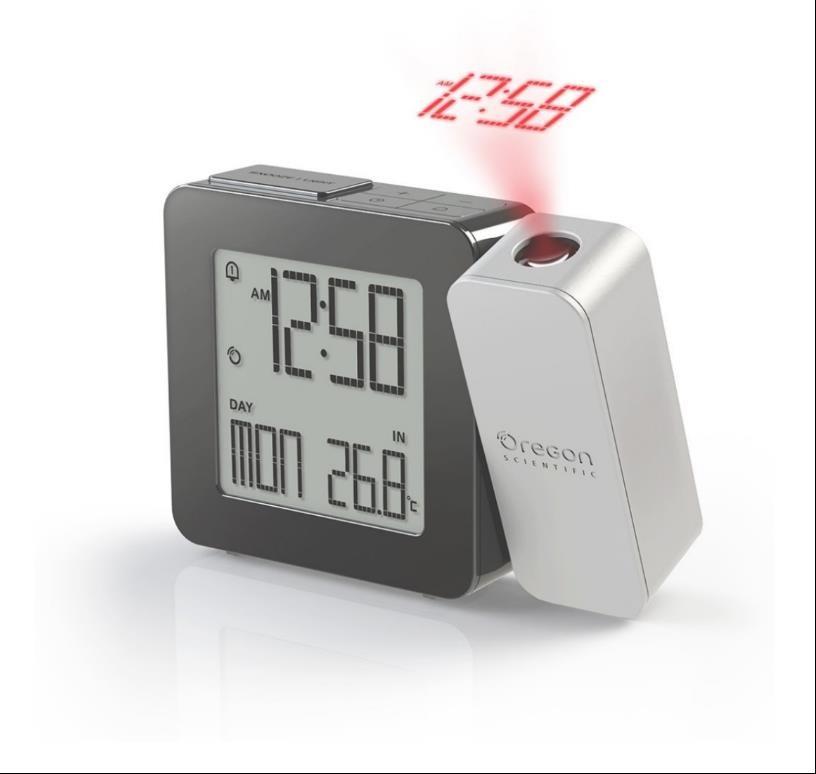 Oregon RM338PS PROJI - digitální budík s projekcí času