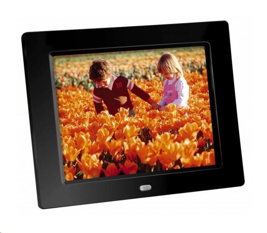 "Braun LCD fotorám DigiFRAME 80 (8"", 800x600px, 4:3 LED, černý)"