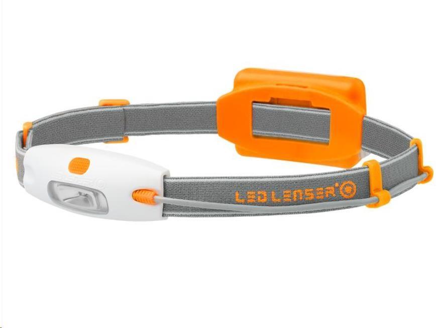 LEDLENSER NEO LED čelovka - oranžová