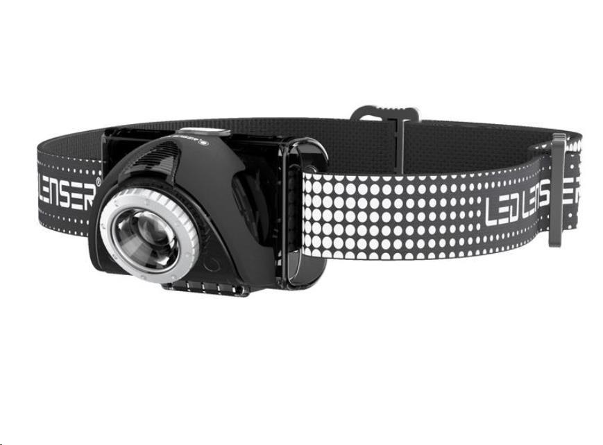 LEDLENSER SEO 7R LED čelovka - černá