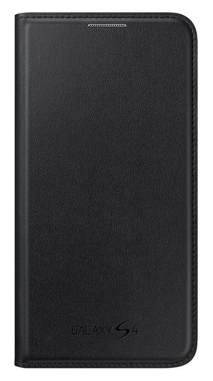 Samsung flipové pouzdro s kapsou EF-NI950BB pro Galaxy S4 (i9505), černá
