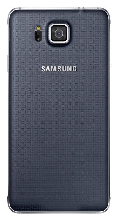 Samsung zadní kryt EF-OG850S pro Samsung Galaxy Alpha (SM-G850), černá