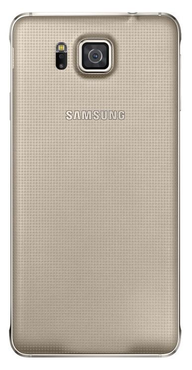 Samsung zadní kryt EF-OG850S pro Samsung Galaxy Alpha (SM-G850), zlatá