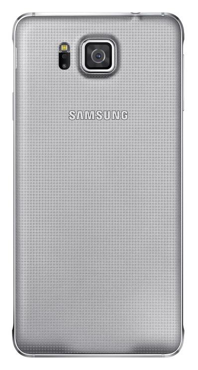 Samsung zadní kryt EF-OG850S pro Samsung Galaxy Alpha (SM-G850), stříbrná