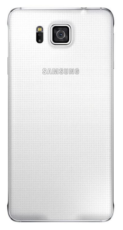 Samsung zadní kryt EF-OG850S pro Samsung Galaxy Alpha (SM-G850), bílá