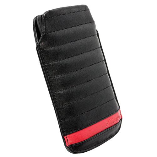 Krusell pouzdro IDRE mobile Large, černá/červená