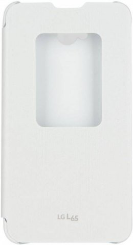 LG flipové pouzdro QuickWindow CCF-450-D pro LG D280n, L65, bílá