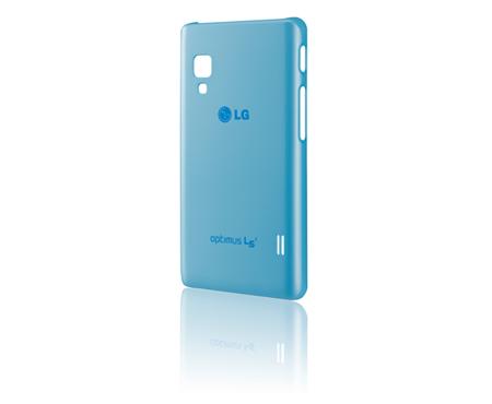 LG ochranný zadní kryt CCH-210 pro Optimus L5 II, modrá
