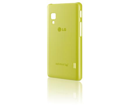 LG ochranný zadní kryt CCH-210 pro Optimus L5 II, zelená