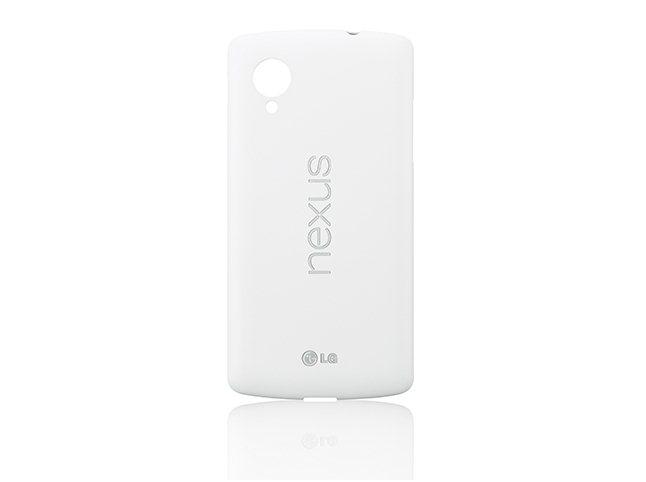 LG zadní kryt Snap-on Case CCH-250 pro Nexus 5, bílá