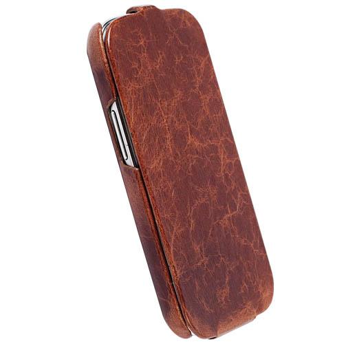 Krusell pouzdro na mobil TUMBA pro Samsung Galaxy S III (i9300), hnědá (Vintage Brown)