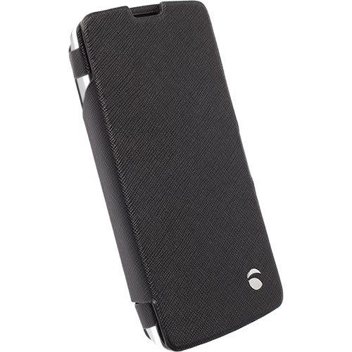 Krusell flipové pouzdro MALMÖ FlipWallet pro LG D390n F60, černá