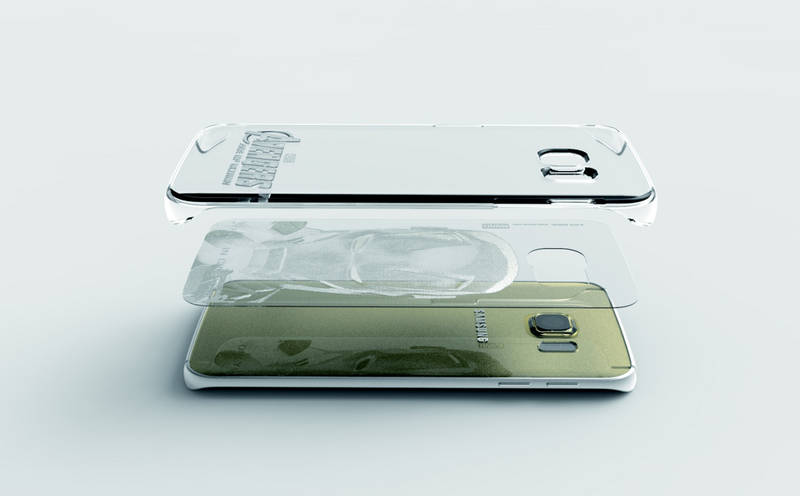 Samsung kryt Clear cover - edice Avengers pro Galaxy S6 edge (SM-G925F)