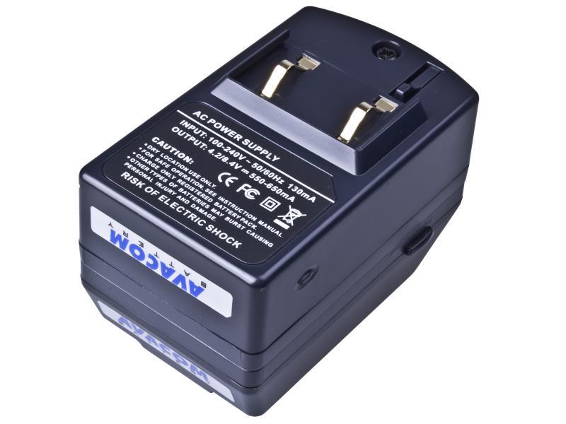 AVACOM Nabíječka pro Li-Ion akumulátor Panasonic S-002 / S-006 - ACM77 - BAZAR z opravy