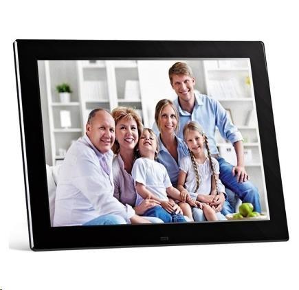 """Braun LCD fotorám DigiFRAME 1281 (12,1"""", 800x600px, 4:3 LED, FullHD, HDMI, černý)"""