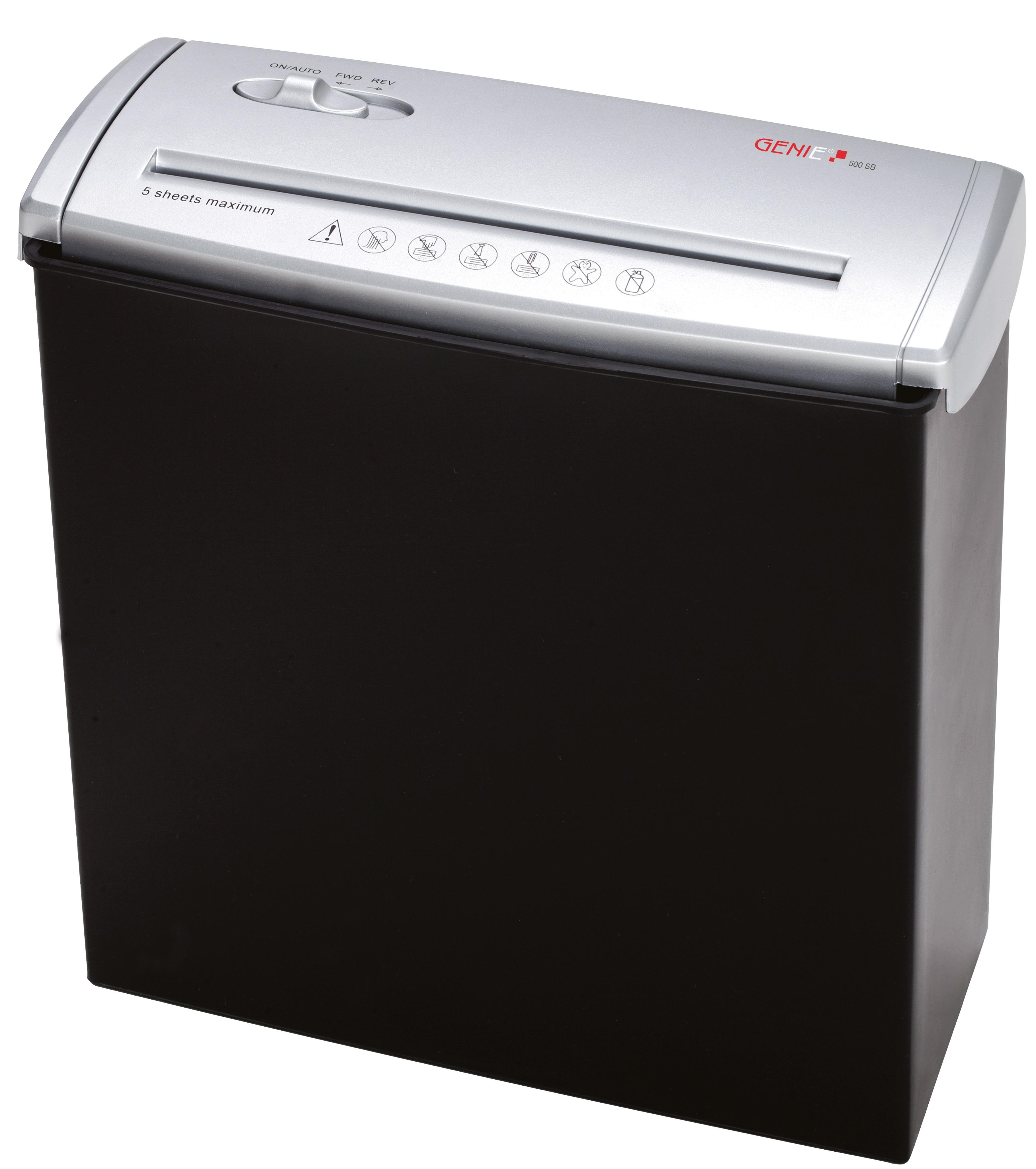 Genie 500SB black/silver