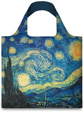 LOQI Bag VINCENT VAN GOGH The Starry Night