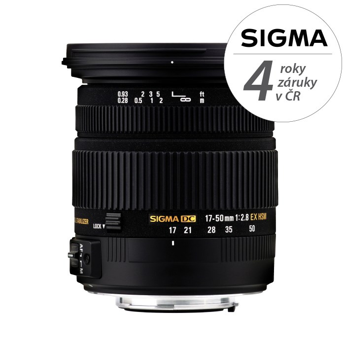 SIGMA 17-50/2.8 EX DC OS HSM SIGMA