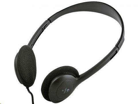 bazar - rozbalené - Logitech sluchátka Dialog-220