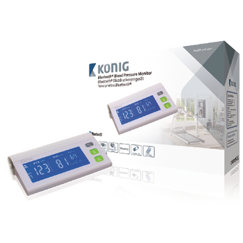 KÖNIG Bluetooth měřič krevního tlaku na nadloktí - KN-BLDPRESS40B REPAIR
