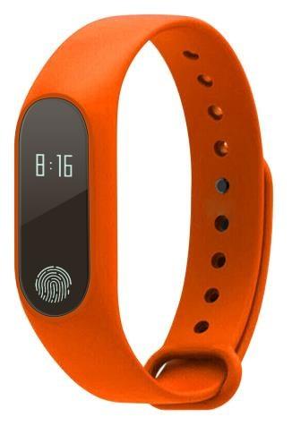 Aligator fitness náramek M2, oranžová