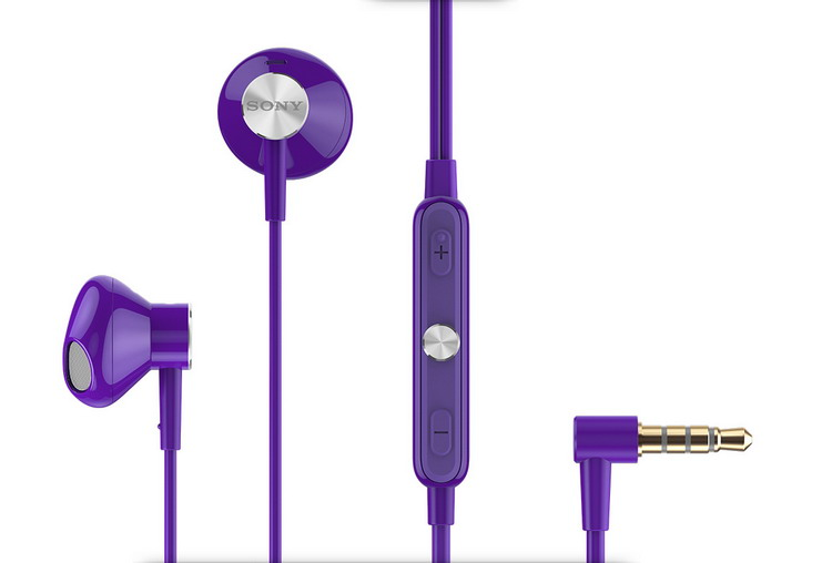 Sony stereo headset STH30, fialová