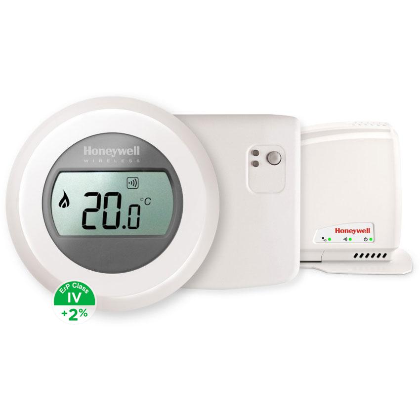 Honeywell Evohome Round Home Connected Y87RFC2074, sada termostat, relé, gateway, +2% ErP IV
