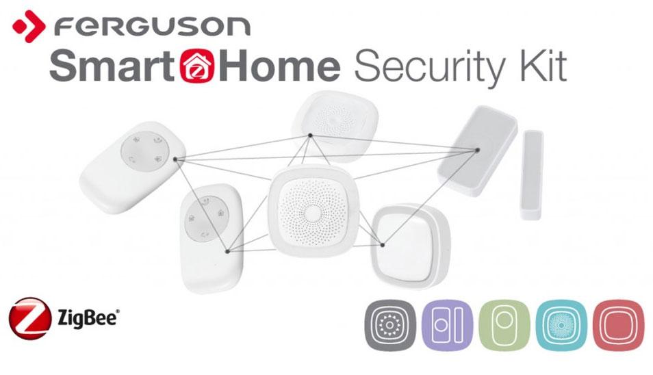 # Ferguson Smart HomeSecurity Kit - zboží bylo rozbaleno a otestováno