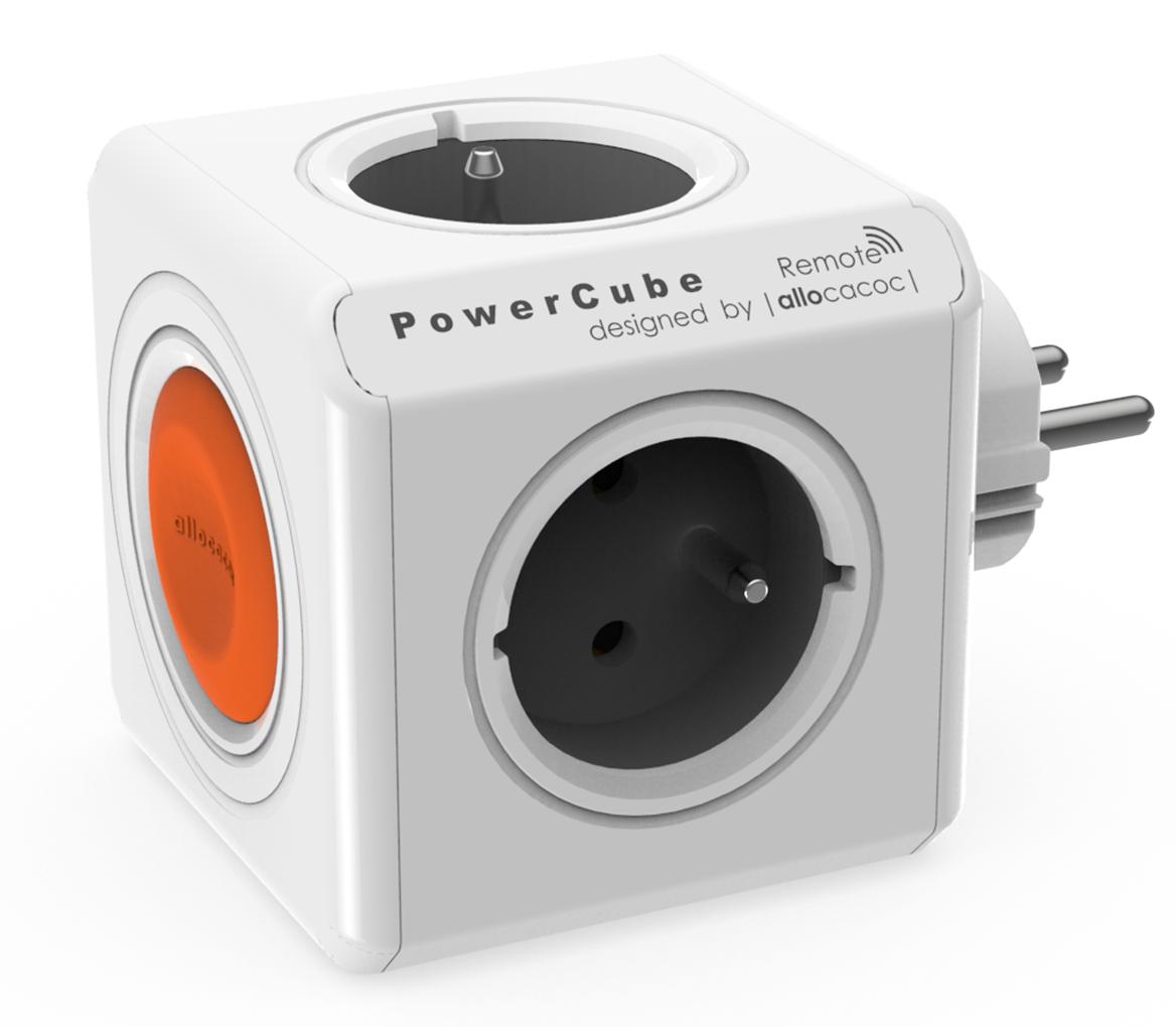 PowerCube Original Remote, bílá / šedá