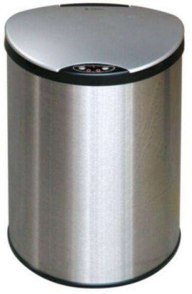 Petit bezdotykový odpadkový koš 12 L, nerezový senzorový