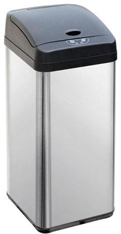 Deodorizér odpadkový koš bezdotykový 48L, hranatý senzorový