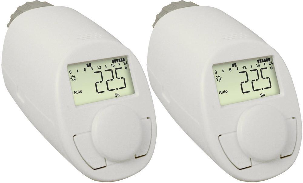 eQ-3 N, 5-29 °C, Programovatelná termostatická hlavice, 2ks