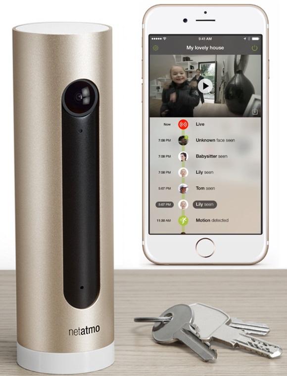 Netatmo Welcome bezpečnostní kamera s rozpoznáním obličejů