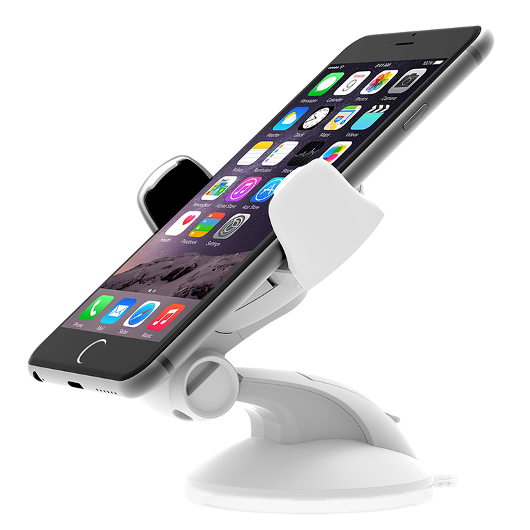 iOttie Easy Flex 3 Car Mount Holder, white - universal