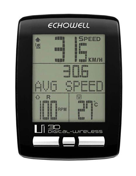 Echowell Ui30 bezdrátový cyklo počítač