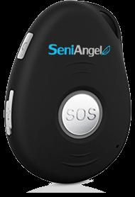 SeniAngel tlačítko SOS, PROMO aktivace 12 měsíců + HW černá