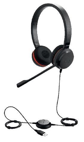 Jabra náhlavní souprava Evolve 30 II, stereo, USB, NC, MS