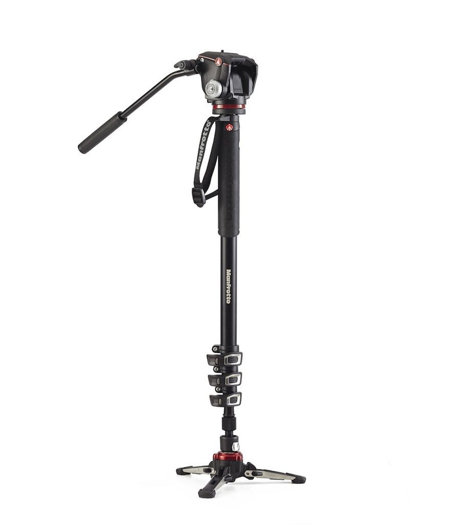 Manfrotto XPRO VIDEO MONOPOD XPRO2W HEAD, fluidní video monopod